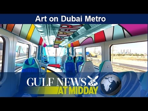 Dubai Metro stations to become art museums - GN Midday