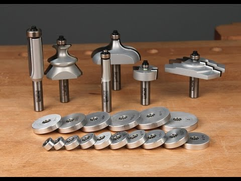 Infinity Cutting Tools - 16-Pc. Ultimate Router Bit Bearing Kit