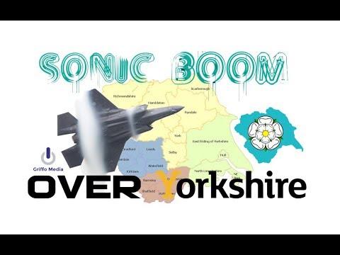Yorkshire Sonic Booms Captured on CCTV