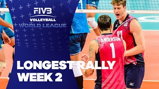 FIVB - World League: Longest Rally of Week 2
