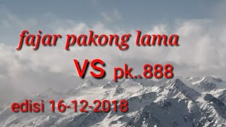 Download fajar pakong lama vs pk  888 16-12-2018 MP3 - ZONAMP3