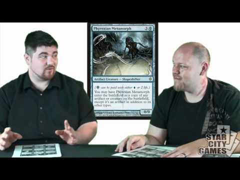 Complete New Phyrexia Set Review - Blue