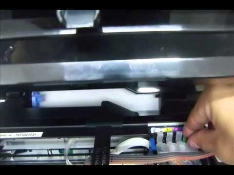 Como resetear cartuchos de tinta de epson Work Force 2540