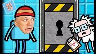 ПОБЕГ из КОМНАТЫ в игре Escape that level Яркая мультяшная игра с героями и квестами от канала FFGTV