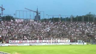 Curva Sud Vicenza in Vicenza-Empoli play out serie B 2012