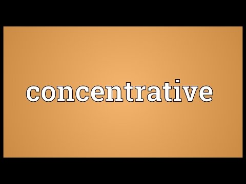 Header of concentrative