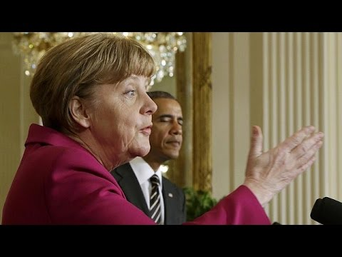 Obama und Merkel demonstrieren Einigkeit in der Ukraine-Krise