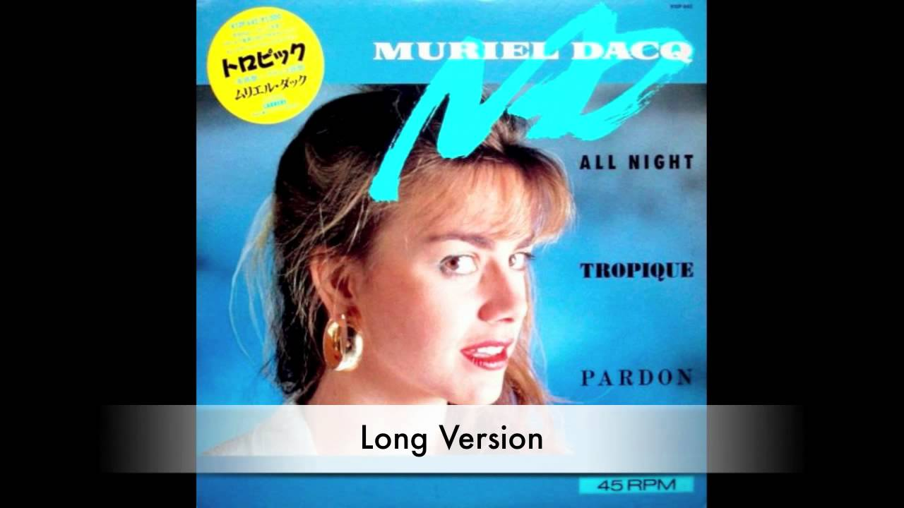 Muriel Dacq All Night Tropique