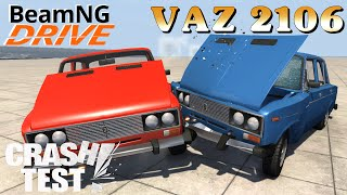 BeamNG DRIVE mod car VAZ 2106 Crash Test