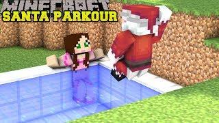 Minecraft: SANTA'S PARKOUR CHALLENGE!! - SCIENCE SANTA - Custom Map [2]