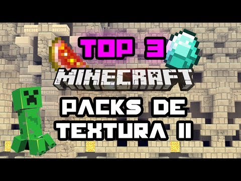 MINECRAFT: TOP 3 PACKS DE TEXTURA  1.7.2