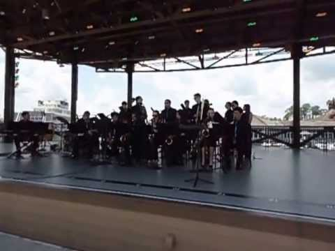LMHS Jazz Ensemble performing Duke Ellington's