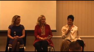 Caroline Munro, Sophia Myles, Valerie Leon, Martine Beswick at Chiller - Oct. 2012