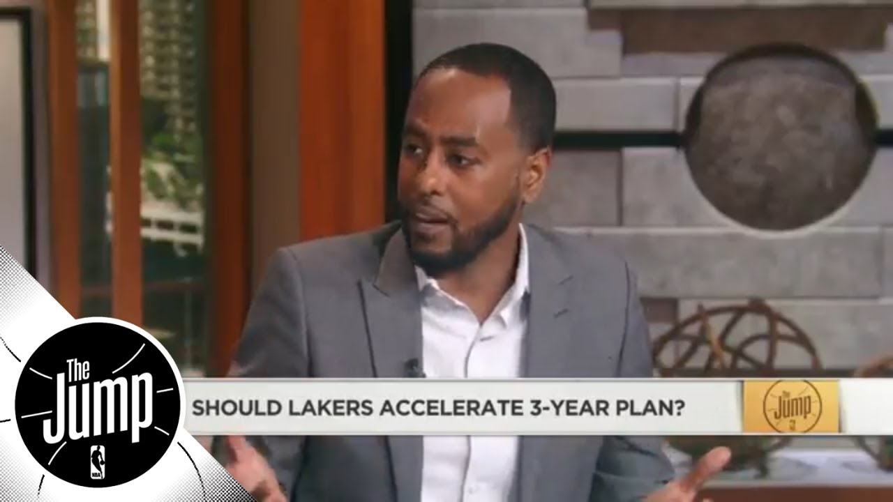 Amin Elhassan: Lakers shouldn't accelerate 3-year plan because of LeBron | The Jump | ESPN
