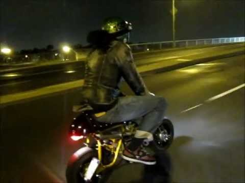 Z50 160cc monkey bike night ride