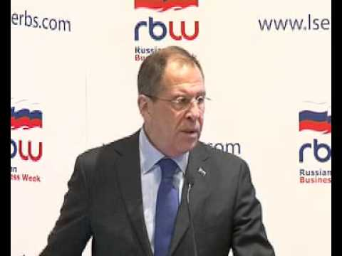 Speech and Q&A by Sergey Lavrov at LSE