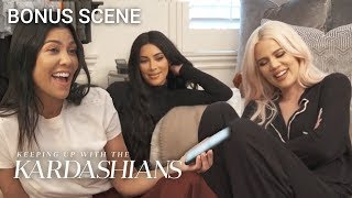 Kardashians Set A New Thanksgiving Family Tradition | KUWTK Bonus Scene | E!