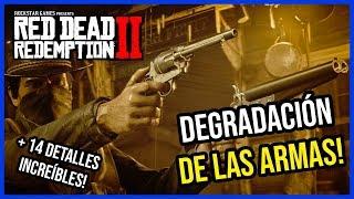 RED DEAD REDEMPTION 2 : DEGRADACIÓN DE LAS ARMAS Y 14 DETALLES INCREIBLES!🔥RDR2 en español