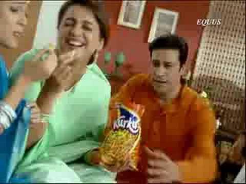 Cool Commercials : Lehar Kurkure Ad - Saas Ba...