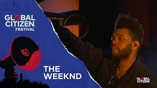 The Weeknd Performs Call Out My Name Global Citizen Festival Nyc 2018
