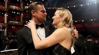 Kate Winslet Adorably Tears Up During Leonardo DiCaprio