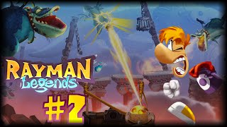 Rayman Legends (PC) ~ 100% ~ Część 2 ~ Epicki smok i Castle Rock
