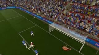 FIFA 17 freekick hakim ziyech (Ajax Amsterdam)