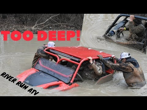 HUGE POLARIS GENERALS AND RANGERS GO HOOD DEEP AT River Run ATV park Mardi Gras 2018