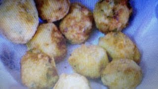 How to make Potato ball (aloo ball)