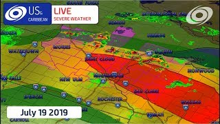 LIVE COVERAGE: Tornadoes Expected in Northern US