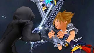 Kingdom Hearts 2: Sora vs Roxas Boss Fight (PS3 1080p)