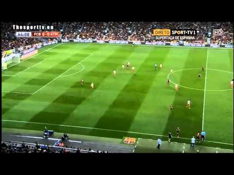 FC Barcelona vs. Atletico Madrid 0:0 28/8/2013 Full Match (2/2) (CZECH COMENT)