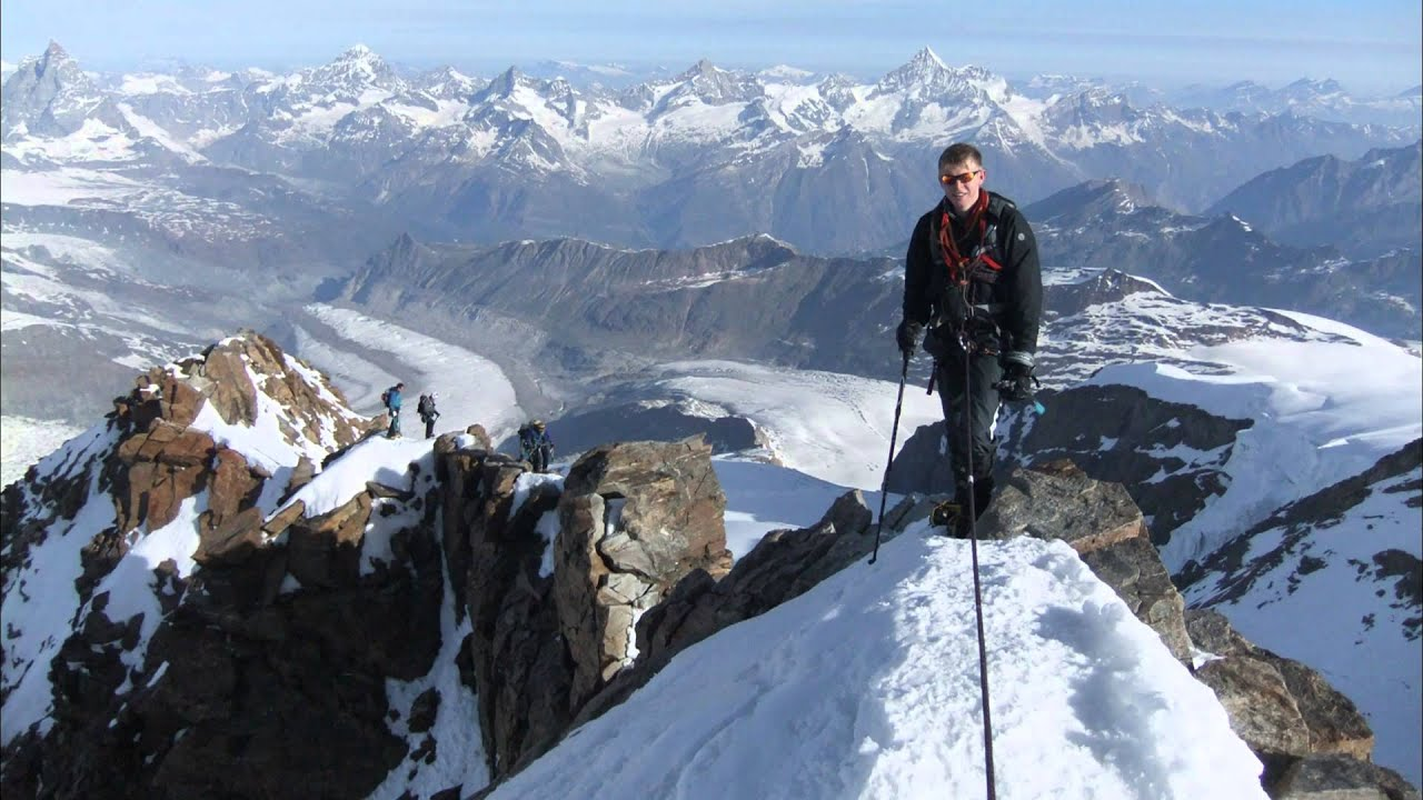 Climbing monte rosa youtube for Montre rosra