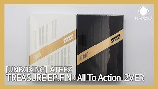 [UNBOXING] 에이티즈 (ATEEZ) 1집 - TREASURE EP.FIN : All To Action 2 VER