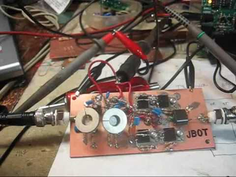 JBOT QRP SSB Linear Amplifier