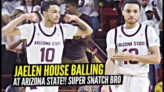 Jaelen House Is BALLIN' In College at Arizona State!! Leads Team In SCORING!