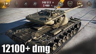T57 Heavy Tank 12100+ dmg ЛУЧШИЙ БОЙ WORLD OF TANKS