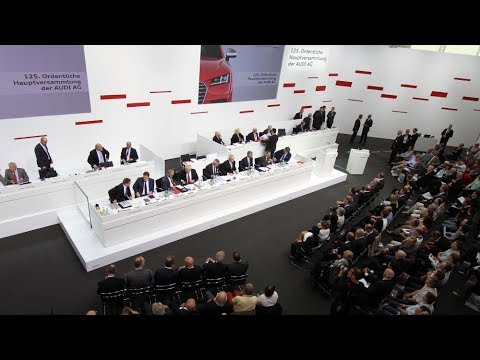 Audi Hauptversammlung: Rupert Stadler wir bleiben auf Erfolgskurs