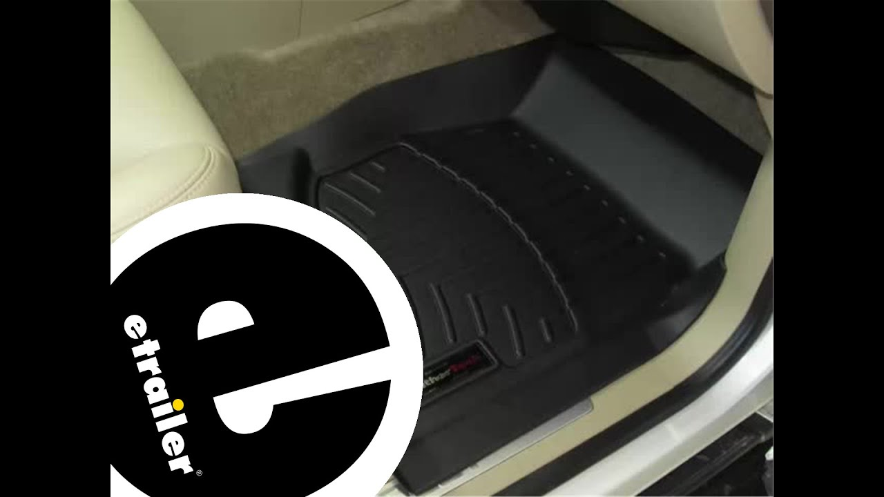 Review Of The WeatherTech Front Floor Liners On A 2011