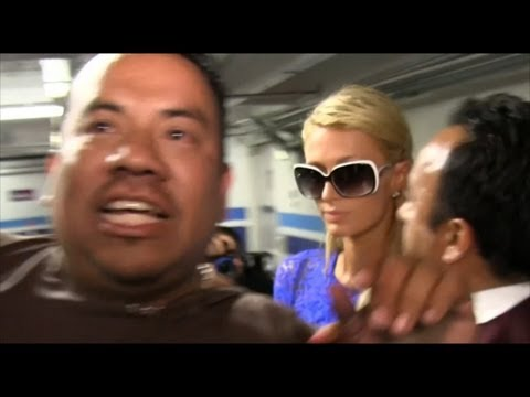 Paris Hilton FIGHTS with a Photographer