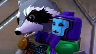"Lego FUNNIEST SCENE ""ROCKET RACCOON/KANG "" LEGO Marvel super heroes 2"
