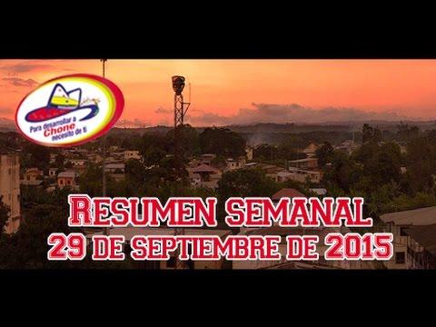 Resumen semanal - 29 de septiembre de 2015