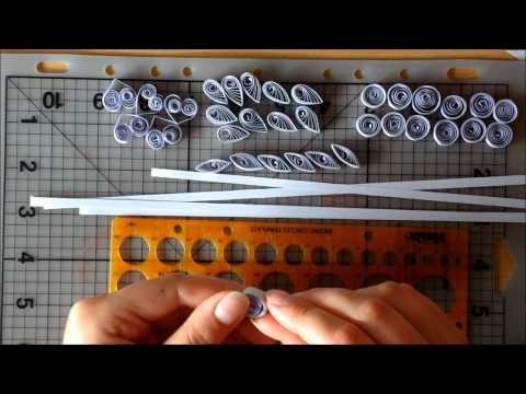 Видео как научиться квиллингу