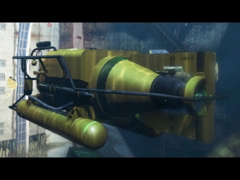 Grand Theft Auto 5: Free Roam Submarine Location (HD)