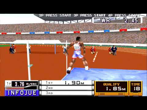 Playstation (PSX) - [2] - International Track and Field