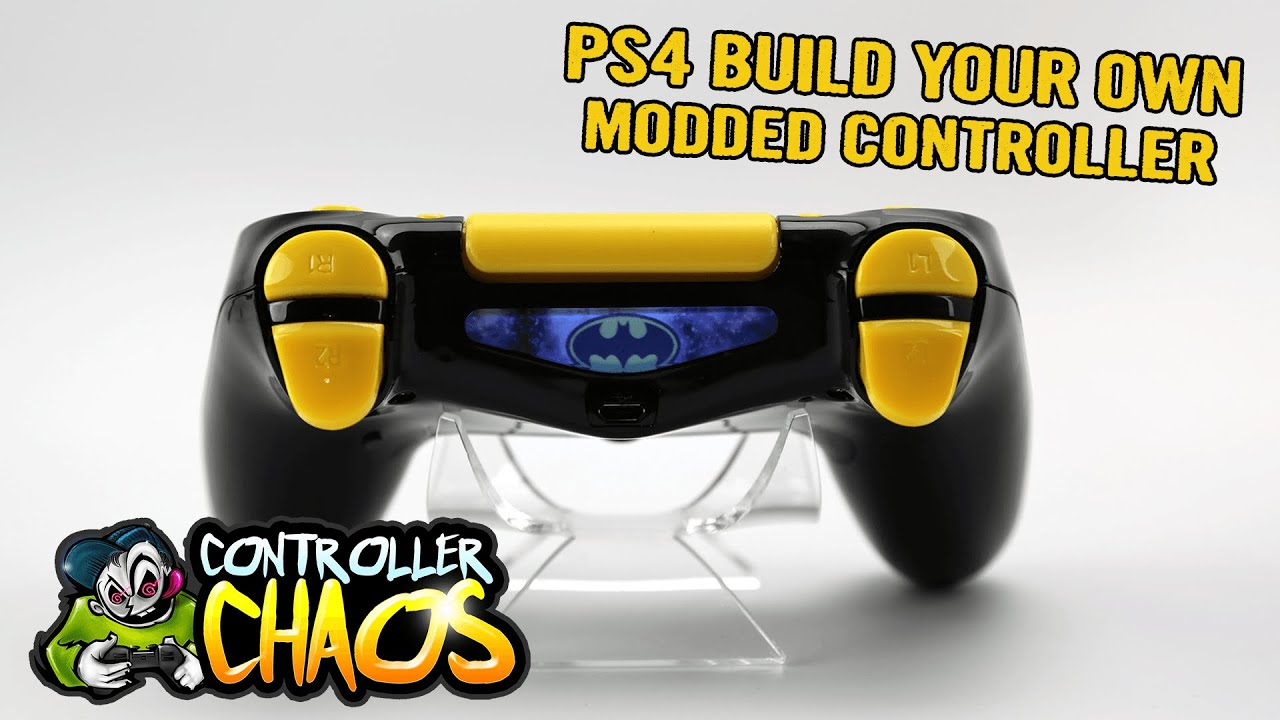 Ps4 Build Your Own Custom Controllers Controller Chaos