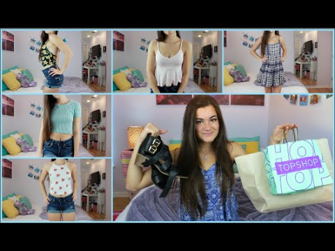 Summer Try-on Haul - Brandy Melville, TopShop, Urban Outfitters