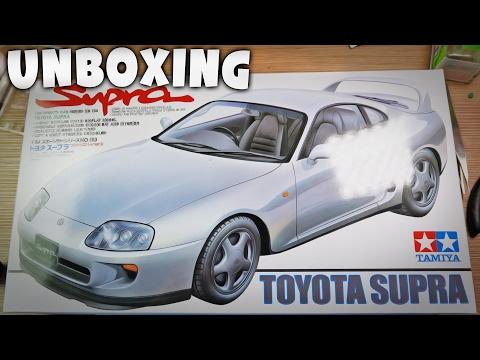 Toyota Supra Tamiya - Unboxing #1 | Modelarstwo