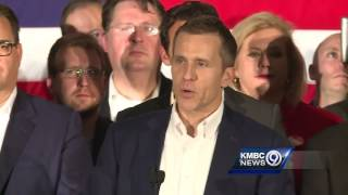 Eric Greitens celebrates victory in Missouri governor's race