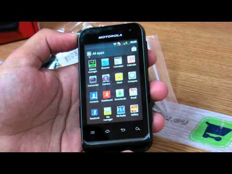 Motorola Defy Mini XT320  review HD ( in Romana ) - www.TelefonulTau.eu -